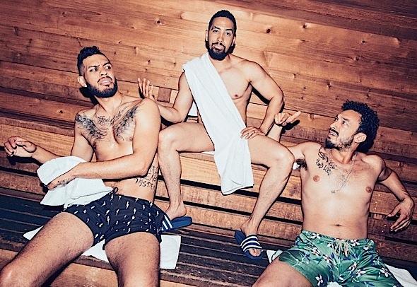 """Insecure"" Men Are Shirtless & Hot: Jay Ellis, Y'lan Noel, Wade Allain-Marcus, Sarunas Jackson & Neil Brown Jr. [Photos]"