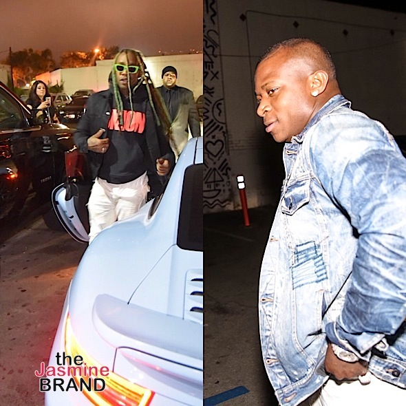 Future, Swae Lee, Young Thug, Rosa Acosta, Justin & Christian Combs Party in West Hollywood [Celebrity Stalking]