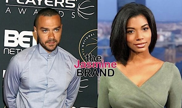 Jesse Williams Dating Sports Reporter Taylor Rooks