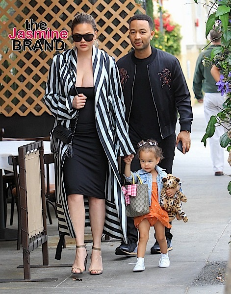 Chrissy Teigen & John Legend's 2-Year-Old Daughter Carries Designer Bag