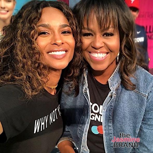 Michelle Obama Hosts College Signing Day: Kelly Rowland, Janelle Monae, Bradley Cooper, Jidenna Attend