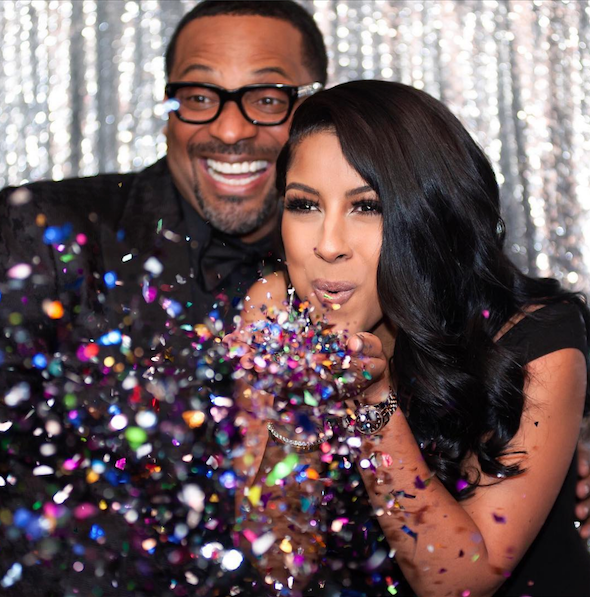 Mike Epps Engaged To TV Producer Kyra Robinson [Photos]