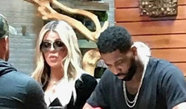 Khloe Kardashian & Tristan Thompson Make 1st Public Appearance Since Cheating Scandal