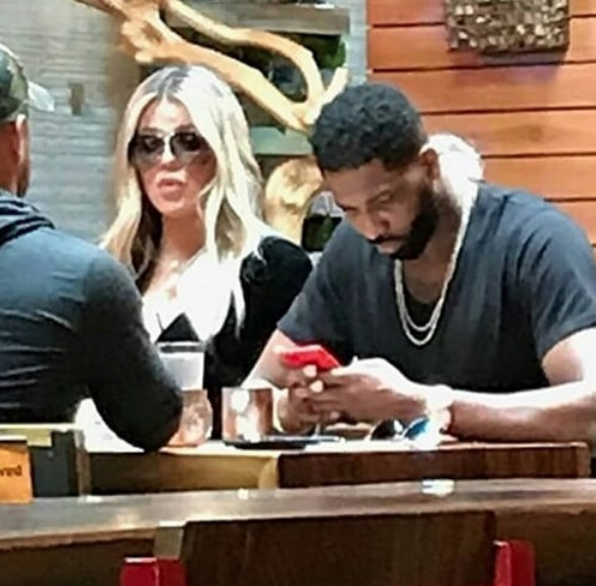 Khloe Kardashian & Tristan Thompson Make 1st Public Appearance Since Cheating Scandal