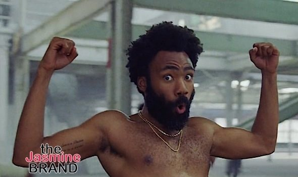A Shirtless & Dancing Childish Gambino Shines In 'This Is America' Video
