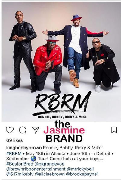 New Edition - We're Performing Without 2 Members, Our New Name Is