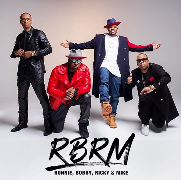 "Remaining New Edition Members Explain New Group ""RBRM"""