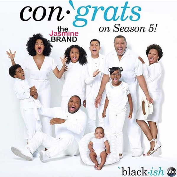 """Black-Ish"" Renewed For 5th Season"