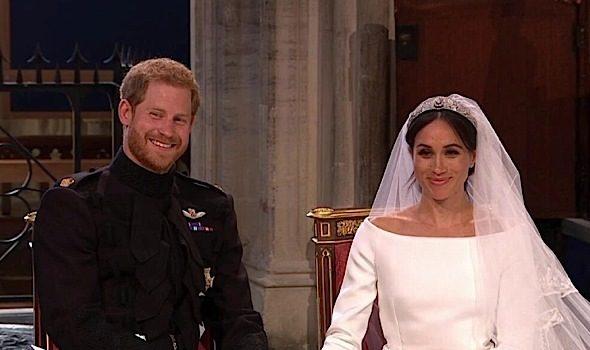 Prince Harry & Meghan Markle Are Married! Oprah, Idris Elba, Elton John Attend [Photos]