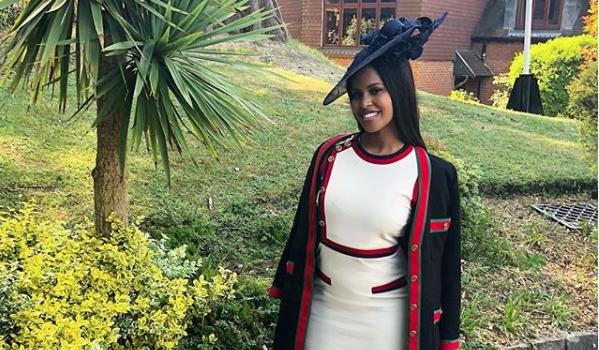 Idris Elba Fiancée Sabrina Dowhre Slammed For Wearing Gucci Outfit To Royal Wedding [Photos]