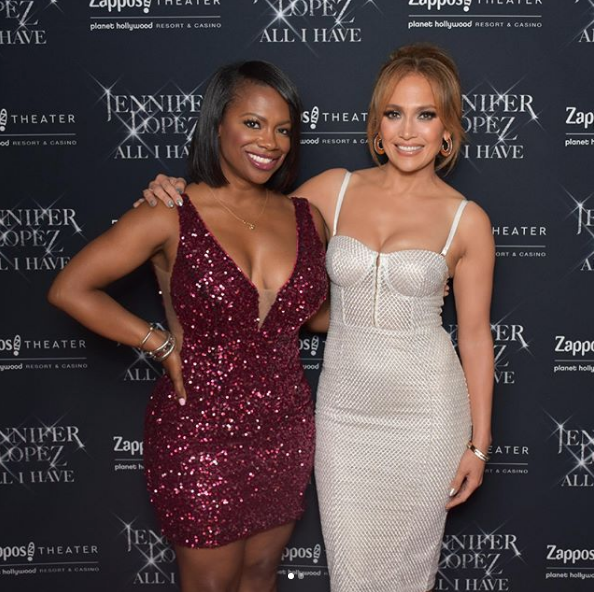 Kandi Burruss Celebrates B-Day w/ J.Lo, Parties in Las Vegas