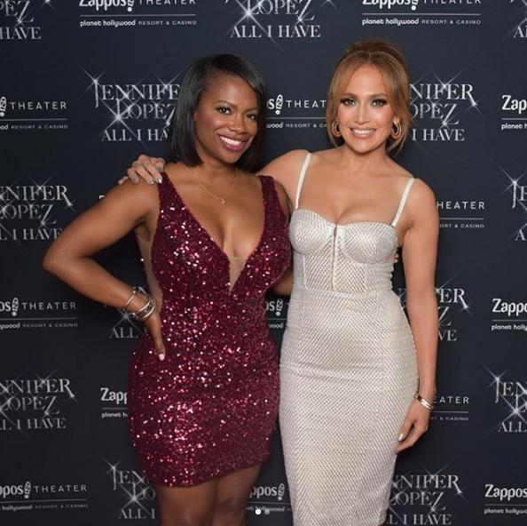 Kandi Burruss Celebrates B-Day w/ J.Lo, Parties in Las Vegas