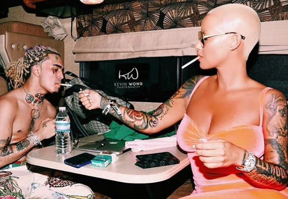 Amber Rose Continues To Deny Dating 17-Year-Old Lil Pump: I'm Old Enough To Be His Mother