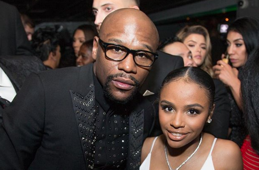 Floyd Mayweather Buys Daughter Huge, 18 Ct Ring For 18th Birthday!
