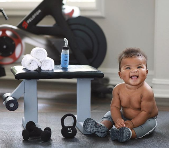 Kevin Hart's Baby Boy Turns 6 Months! [Photos]