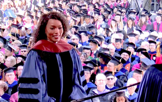 Angela Bassett Receives Honorary Degree From Yale