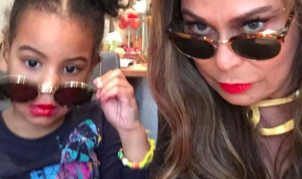 Blue Ivy Hilariously Tells Grandmother Tina Lawson to Follow The Rules