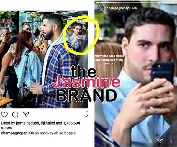 Drake Catches Fan Sneaking Photo In Club