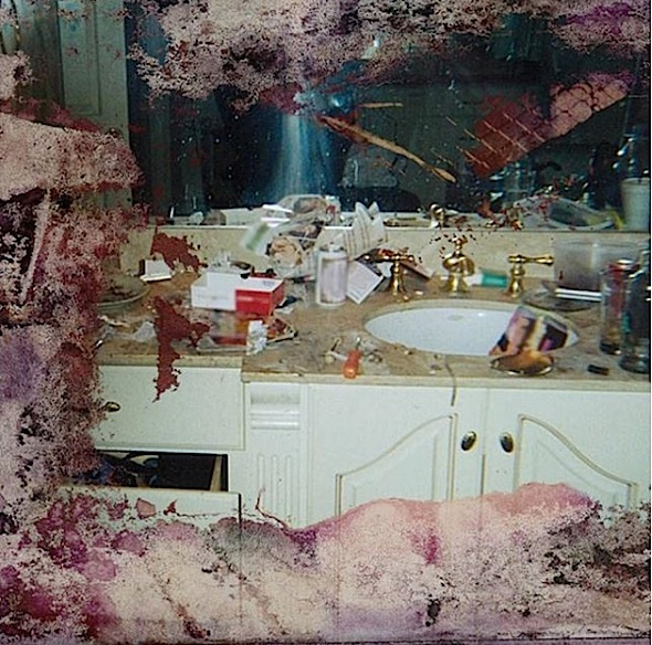 Image result for whitney houston messy bathroom