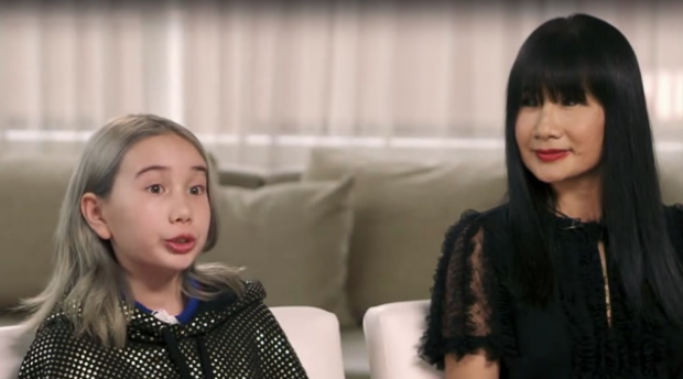 Lil Tay's Mother Defends Daughter's Behavior: It's Just Entertainment, She's Well-Behaved