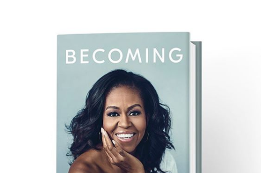 Michelle Obama Debuts Book Cover