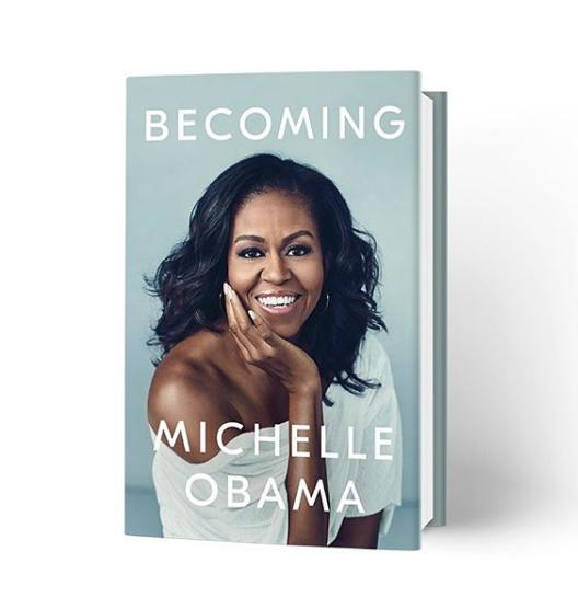 Michelle Obama Debuts Book Cover
