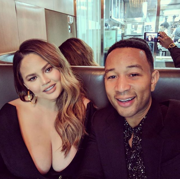 John Legend & Chrissy Teigen Have 1st Date Since Newborn Son's Birth