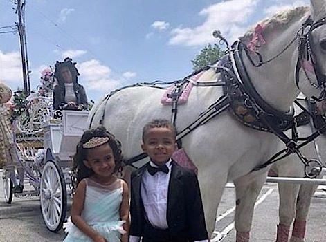 Chris Brown's Daughter, Royalty, Celebrates Fourth Birthday