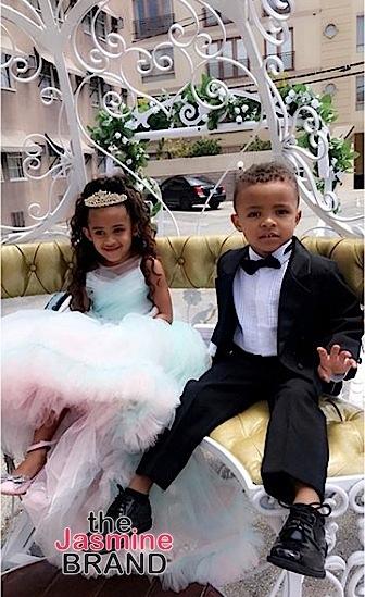 Chris Brown S Daughter Royalty Celebrates Fourth