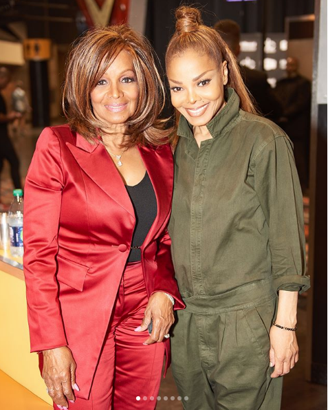 Janet Jackson's 68-Year-Old Sister Rebbie Is Stunning! [Photos]