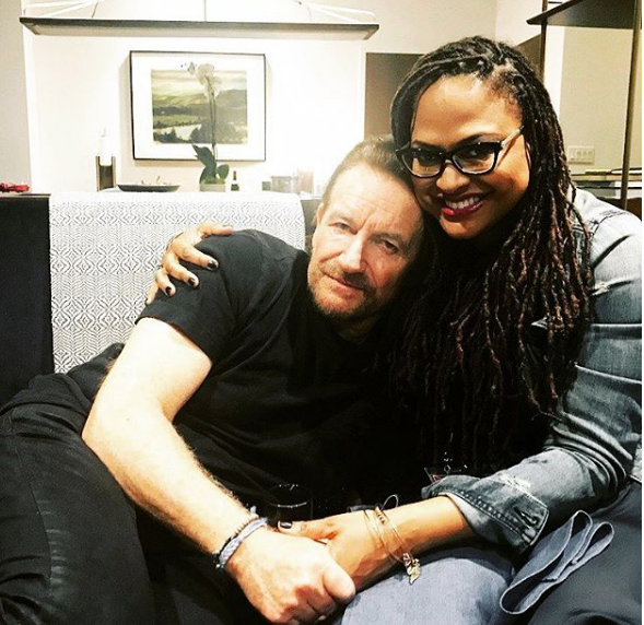Oprah Gifts Ava DuVernay A Sweet Experience W/ U2's Bono