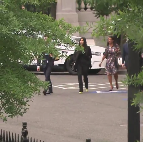 Kim Kardashian Arrives At White House To Discuss Prison Reform