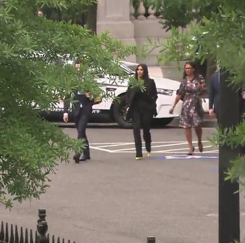 Kim Kardashian Arrives At White House To Discuss Prison Reform