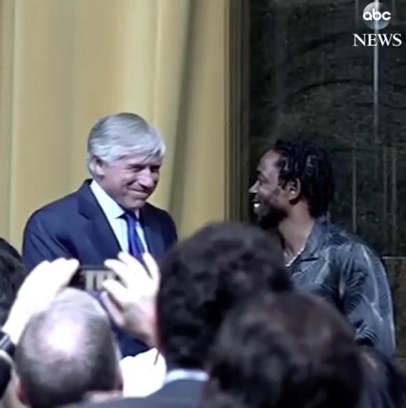 Kendrick Lamar Receives Pulitzer Prize