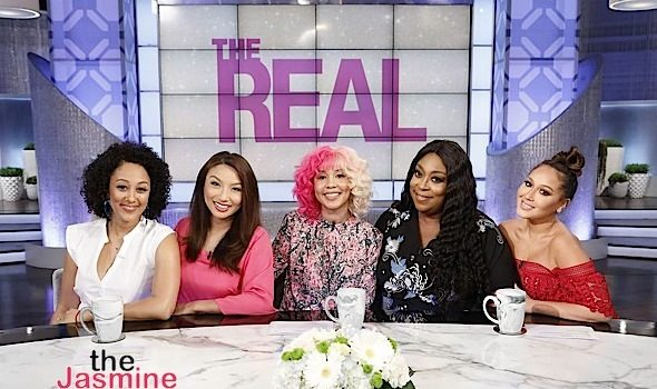 """Jasmine Brand Visits """"The Real"""": Talks Blac Chyna Being Trashed By Mom, """"Power"""" Spin-Off, T.I. & Tiny And Kandi's New Shows [VIDEO]"""