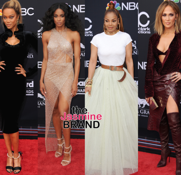 NeYo, John Legend, Michael Jackson, Jr., Tyra Banks, Ciara, Janet Jackson, J.Lo [Billboard Music Awards]