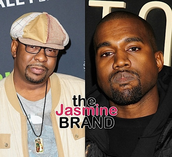 Bobby Brown Wants To Slap Kanye West Over Whitney Houston Drug Infested Photo – I'm The Person To Do It!