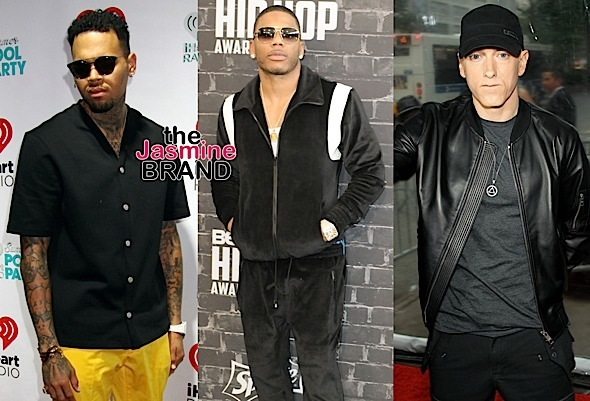 Chris Brown, Nelly, Eminem – Women's Group Want Artists Removed From Spotify