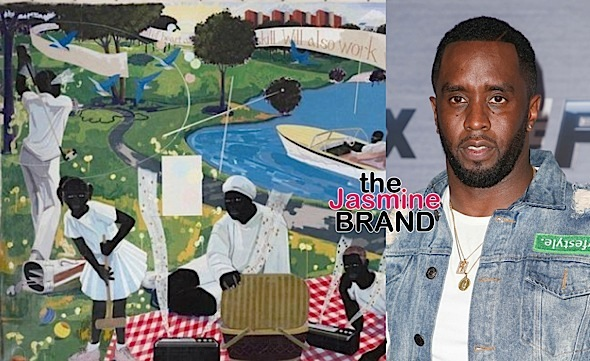 Diddy Buys $21 Million Painting, Most Expensive Piece By Any Living Black Artist!