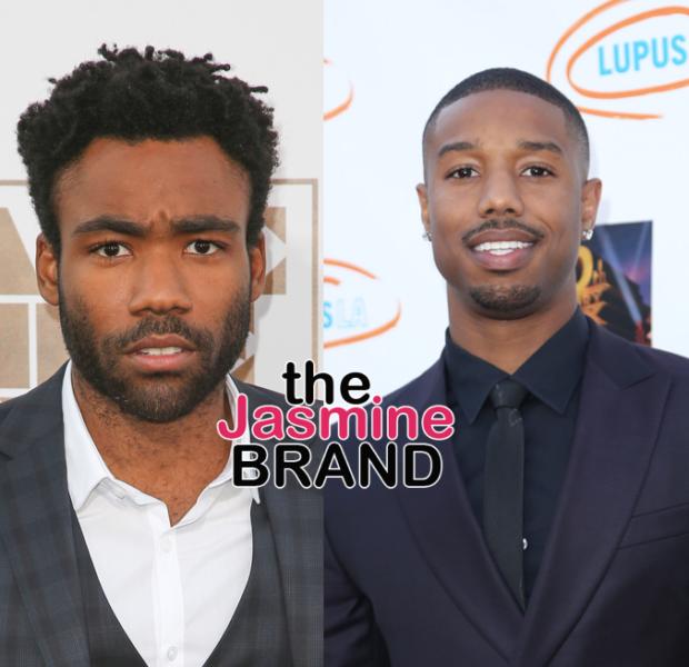 "Donald Glover & Michael B. Jordan Rumored To Join ""Black Panther"" Sequel"