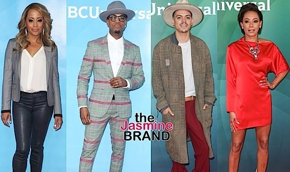 J.Lo, Marlan Wayans, Essence Atkins, NeYo, Evan Ross, Mel B Attend Summer Press Day