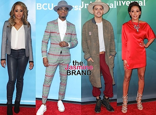 J.Lo, Marlan Wayans, Essence Atkins, NeYo, Evan Ross, Mel B Attend Summer Press Day