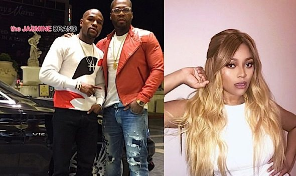 Floyd Mayweather & 50 Cent Are Feuding Over Teairra Mari Club + 50 Posts Private Text Messages