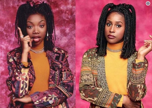 "Brandy Responds To Issa Rae Transforming Into ""Moesha"""
