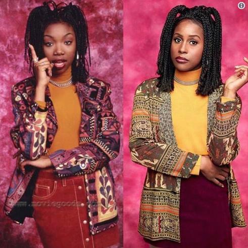 "Brandy Responds To Issa Rae Transforming Into ""Moesha"""
