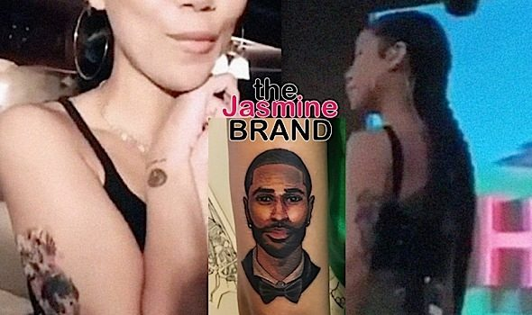 Jhene Aiko Trolls Fans With Big Sean Tattoo: I Got Hella Temporary Tattoos
