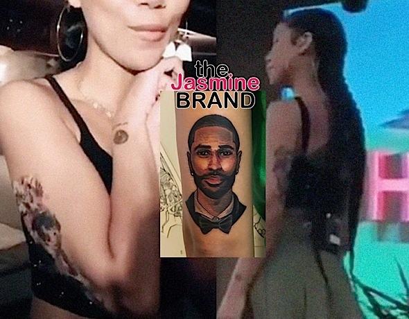 Jhene Aiko Trolls Fans With Big Sean Tattoo: I Got Hella Temporary Tattoos