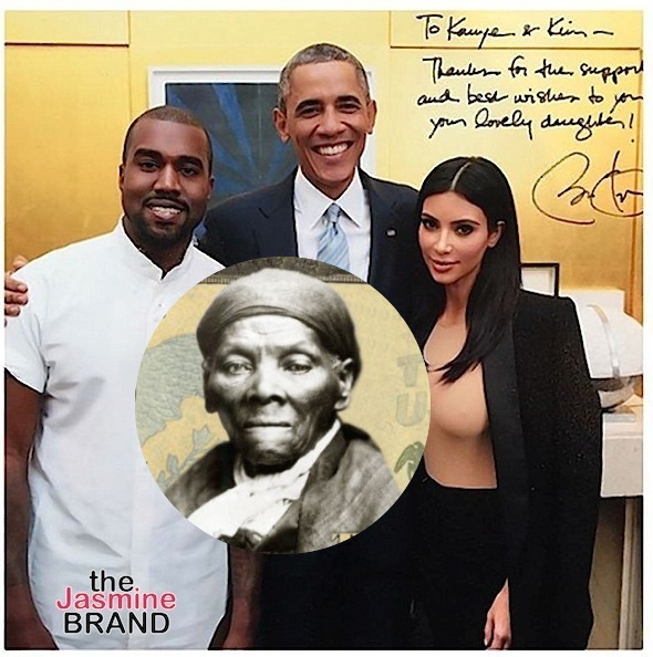 Kanye West Doesn't Want Harriet Tubman On The $20 Bill, Still Pissed Obama Called Him A Jacka**