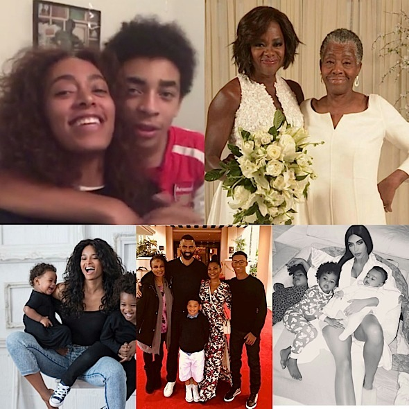 Stars Celebrate Mother's Day: Diddy, Ciara, Amber Rose, Trey Songz, Taraji P. Henson, Sanaa Lathan [Celebrity Photos]