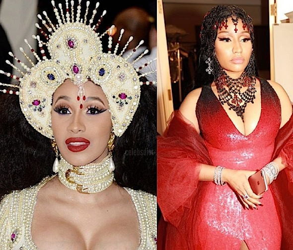 Cardi B Reveals Conversation With Nicki Minaj – There Was A Misunderstanding.